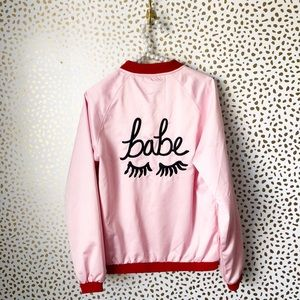 The Style Club Babe Bomber Jacket